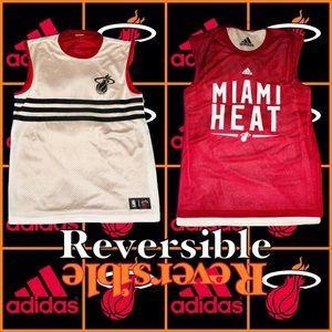 ADIDAS Miami Heat Men's Large Reversible Jersey